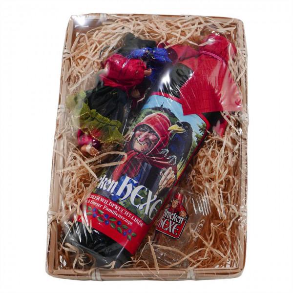 Brocken Hexe Wildfruchtlikör Geschenkverpackung